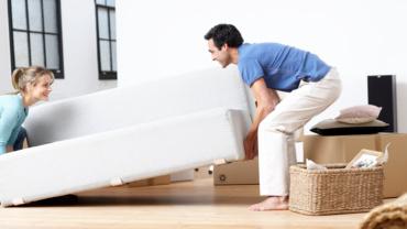 Как перевезти диван