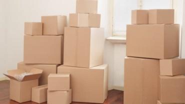 Использование картона для переезда